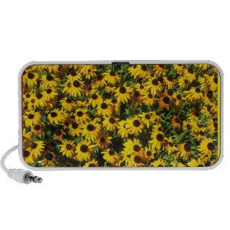 Yellow Flowers PC Speakers