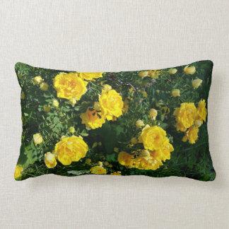 Yellow flowers Pillow