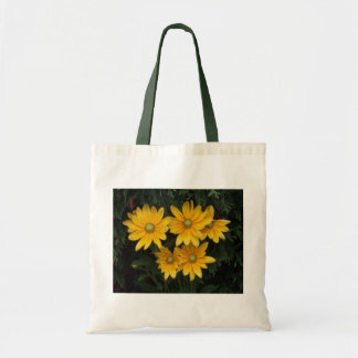 Yellow Flowers Budget Tote Bag
