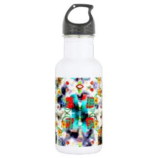 Yellow Flowers Water Bottle