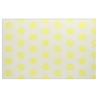 Yellow fluffy spot on light yellow b/g fabric