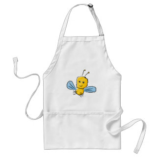 Yellow Flying Insect Bug Standard Apron