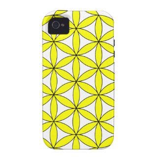 Yellow FOL iPhone 4 Case