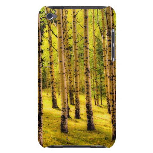 Yellow Forest iPod Touch Case