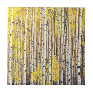 yellow forest tile