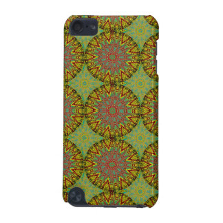 Yellow Fractal Pattern iPod Touch 5G Covers