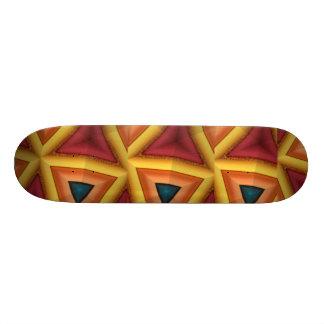 Yellow FriedlanderWann Design Custom Skateboard