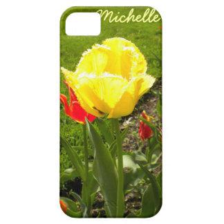 Yellow Fringed Tulip iPhone 5 Case