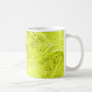 Yellow Fur Basic White Mug