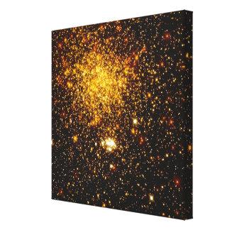 Yellow Galaxy Canvas Prints