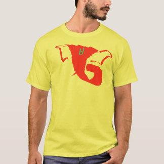 Yellow Ganesh Abstract T-Shirt