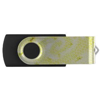 Yellow Gate Effect USB Flash Drive Swivel USB 2.0 Flash Drive