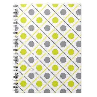 Yellow Geometric Notebook