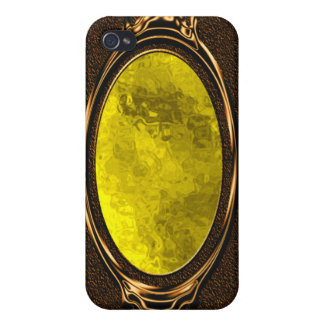 Yellow Glass iPhone 4 Case