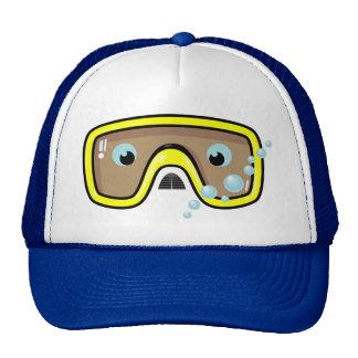 Yellow Goggles Cap