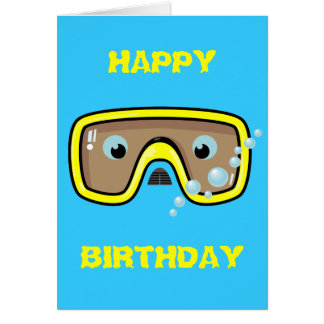 Yellow Goggles Card