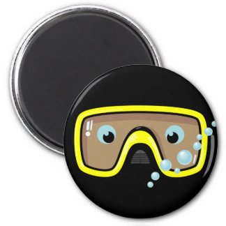 Yellow Goggles Magnet