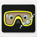 Yellow Goggles Mousepads
