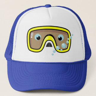 Yellow Goggles Trucker Hat