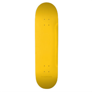 Yellow Gold 21.6 Cm Skateboard Deck