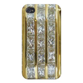 Yellow Gold Diamonds Fantasy iPhone 4 Case Beautif