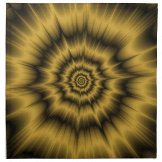 Yellow Gold Explosion Napkins