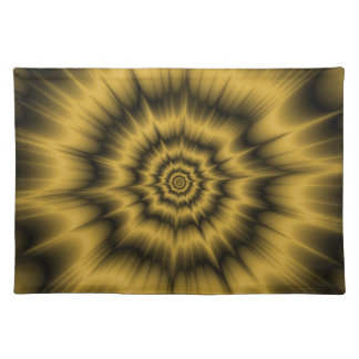 Yellow Gold Explosion Placemats