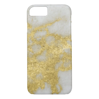 Yellow Gold Marble Party Phone Case
