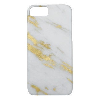 Yellow Gold Marble Shimmer Phone Case