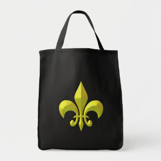 Yellow Gold Metallic Tote Bag