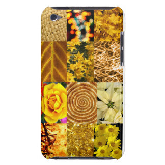 Yellow / Gold Photo Collage iPod Touch Covers