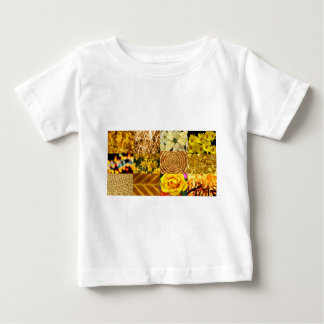 Yellow / Gold Photos Collage T-shirt