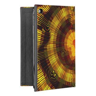 Yellow Gold Spiral iPad Mini 4 Case