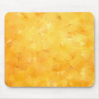 Yellow Golden Beryl Facet Mouse Mat