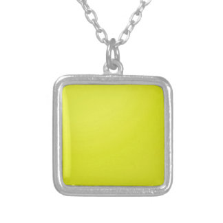 Yellow Golden Color Shade Blanks Add text image Custom Necklace