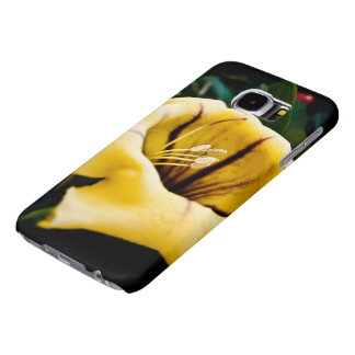 Yellow Golden Cup Flower Galaxy s6 Case