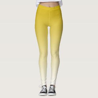Yellow Gradient Custom Leggings