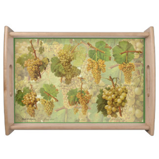 Yellow Grapes Large Serve-Tray (You can customize) Serving Tray