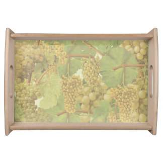 Yellow Grapes Small Serve-Tray (You can customize) Serving Tray