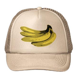 Yellow Graphic Banana Hat