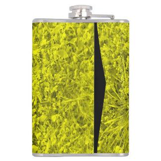 Yellow Grass Hip Flask