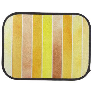 yellow great watercolor background - watercolor car mat