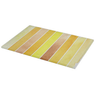 yellow great watercolor background - watercolor cutting board