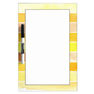 yellow great watercolor background - watercolor dry erase board