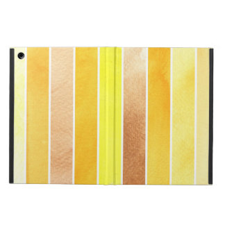 yellow great watercolor background - watercolor iPad air cover