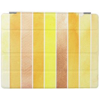 yellow great watercolor background - watercolor iPad cover