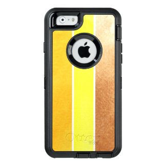 yellow great watercolor background - watercolor OtterBox iPhone 6/6s case