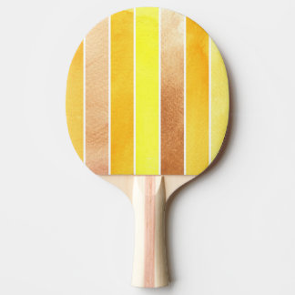 yellow great watercolor background - watercolor ping pong paddle