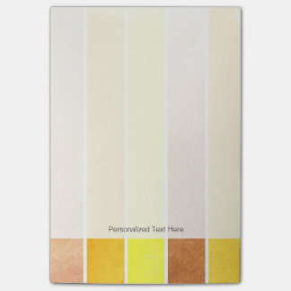 yellow great watercolor background - watercolor post-it notes