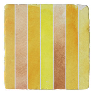 yellow great watercolor background - watercolor trivet